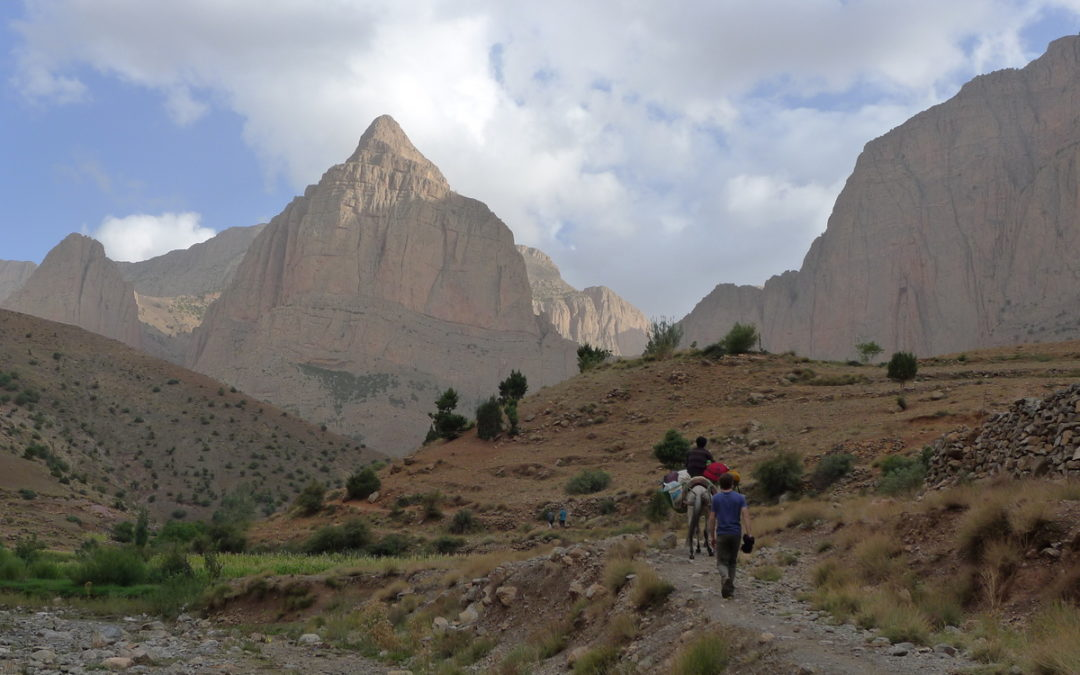 Séjour grimpe à Taghia